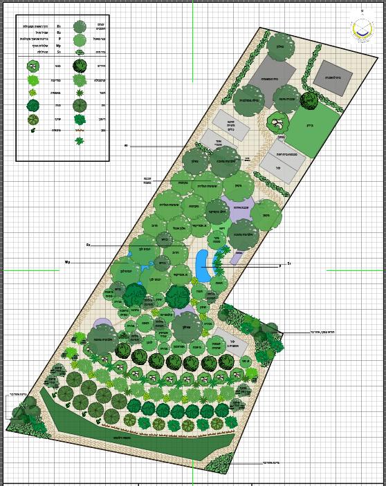 תכנון יער מאכל פרטי